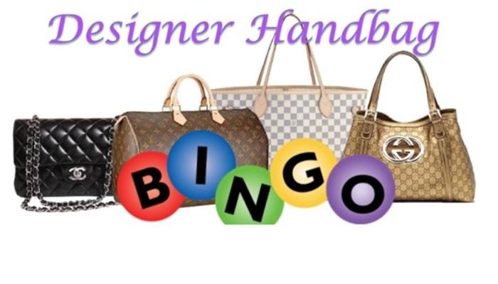 902105af8a4936 Designer Handbag Bingo - Chautauqua Hospice