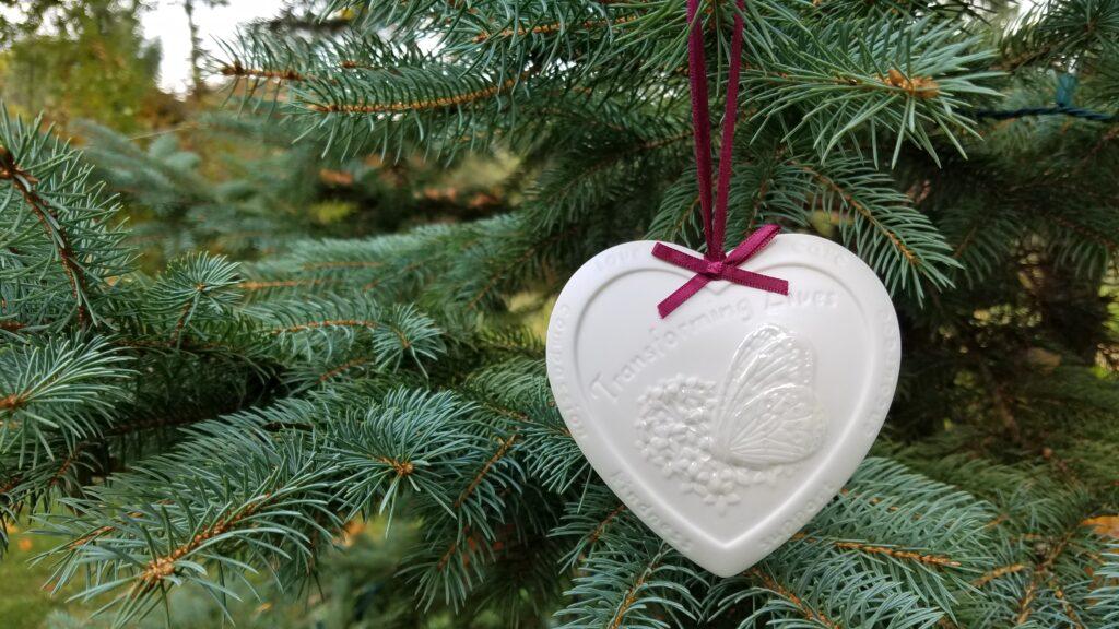 """""""Transforming Lives"""" Ornament"""